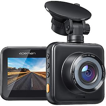 Mini Dash Cam 1080P Full HD, Dash Kamera für Autos mit Super Night Vision