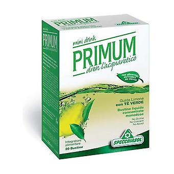 Primum Dren Mini Drink With Green Tea 20 infusion bags