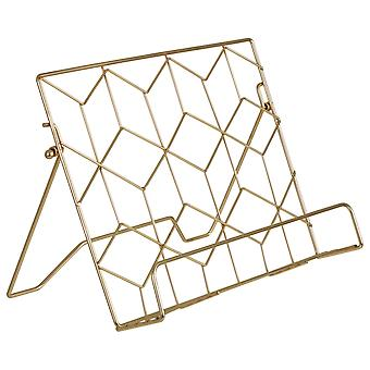 Vertex Contour Cookbook Stand, Gold