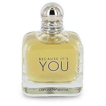 Koska se ' s Eau de Parfum Spray (Tester) by Giorgio Armani 3,4 oz Eau de Parfum Spray