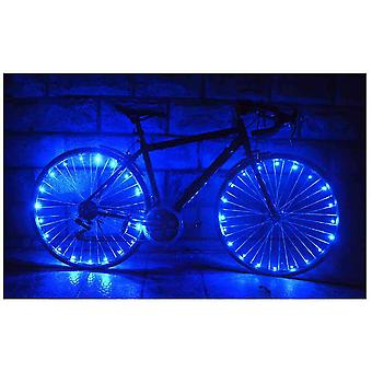 Waterproof Cycling Wheel Light 20 LED Bike 2.2m String Wire Spoke Bicycle Tire Lamp Night Warning Safety Flash Light for Bicycle