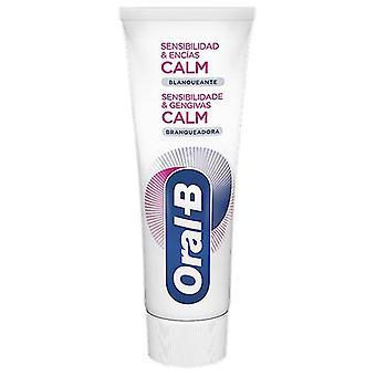 Oral B Pasta Dentífrica Encias Sensibles Blanqueante 75 ml