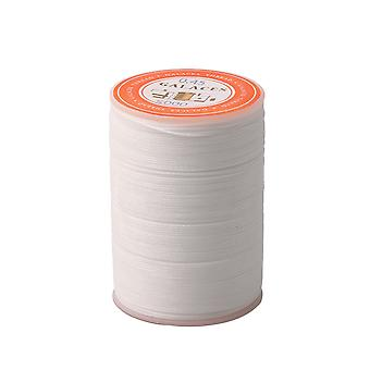 0.45mm White Sewing Wax Line Thread Stitching for Leather Handbag Wallet 0.45mm White Sewing Wax Line Thread Stitching for Leather Handbag Wallet 0.45mm White Sewing Wax Line Thread Stitching for Leather Handbag Wallet 0