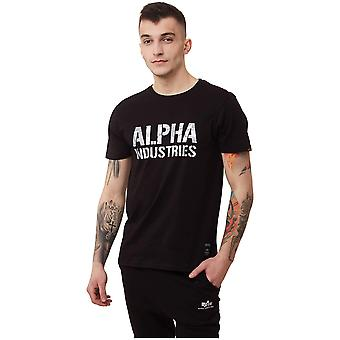 Alpha Industries Camo Print Tshirt 15651395 universal miesten t-paita