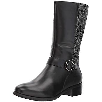 Propét Womens Tessa Fabric Closed Toe Mid-Calf Fashion Boots