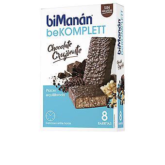 Bimanán Be Komplett Barritas #chocolate Crujiente 8 Uds Unisex