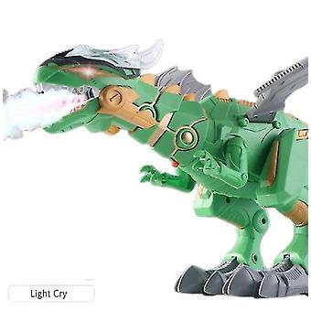 Strojový sprej Ľahký zvuk Elektrický dinosaurus