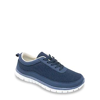 Cushion Walk Mens Wide Fit Lightweight Lace Trainer