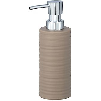 dispensador de jabón Mila 260 ml beige cerámico