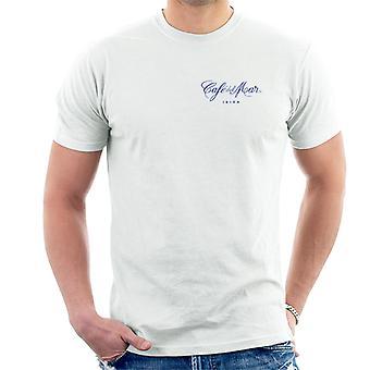 Cafe del Mar Classic Blue Logo Pocket Print Men's T-Shirt