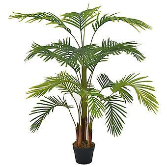 vidaXL Tekokasvi palmu potin vihreällä 120 cm