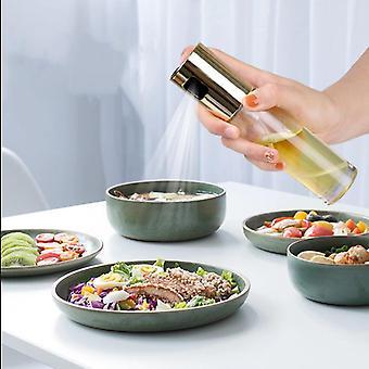 Botella de spray de vidrio para hornear en la cocina