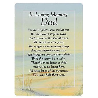 Graveside Memorial Cards - Kærlig minde om far