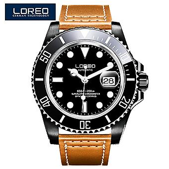 High-quality Top Brand Sapphire 200m Waterproof Military Men Automatic