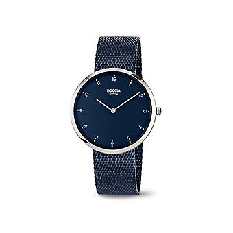 Boccia Analogueico Quartz Watch Woman with Stainless Steel Strap 404TT330909