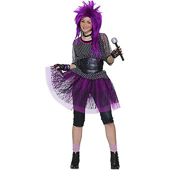 1980s Funky Pop Star Madonna Disco Party Teen Young Women Costume