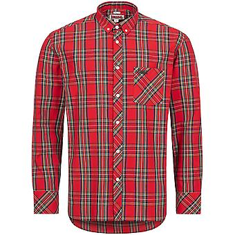 Lonsdale Men's Long Sleeve Shirt Ilford