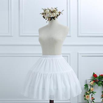 Women's Lolita Bridal Petticoat, Cosplay Party Prom Dress Short Underskirt