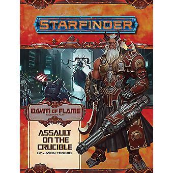 Starfinder Adventure Path: asalt pe Crucible (zori de flacara 6 din 6)