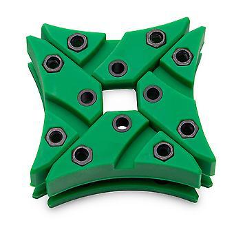 EK Wasserblöcke EK-Vardar X3M Dämpfer Pack für Vardar X3M Lüfter - grün