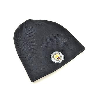 Man City Mass Beanie Hat Navy
