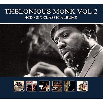 Thelonious Monk - Vol. 2 Six Classic Albums CD