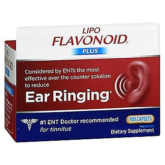 Lipo-Flavonoid Lipo-Flavonoid Plus Ear Ringing Caplets, 100 Tabs