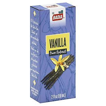 Badia Extract Vanilla, Case of 12 X 2 Oz