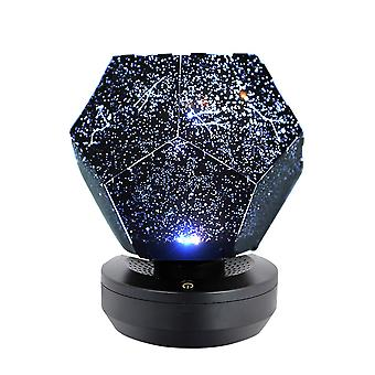 Swotgdoby Three-color Starry Sky Projector, Galaxy Constellation Projection Lamps