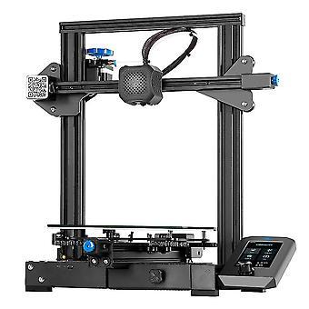 CREALITY 3D Printer Ender-3 V2 met TMC2208 Stepper Drivers Nieuwe UI&4.3 Inch Color LCD met cover