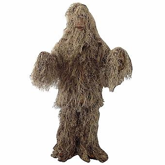 Ghillie Suit Jungle Camouflage Invisibility Cloak Camouflage Uniform Army Camouflage Uniform Chicken-eating Tactical Military Camouflage Uniform Cs Sn