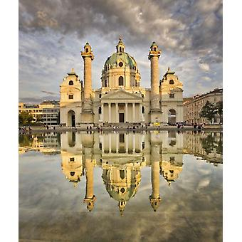 Piatnik Karlskirche Vienna  Jigsaw Puzzle (1000 Pieces)