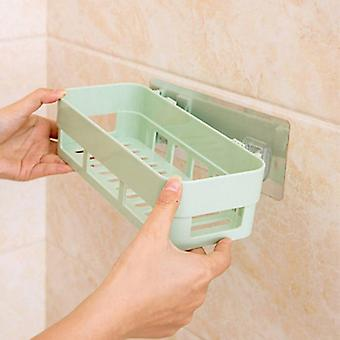 Sømløs Pasta Shelf Nordic Badeværelse Hængende Opbevaringsholder Opbevaring Rack