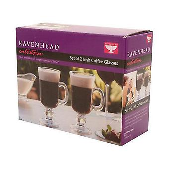 Ravenhead Entertain Irish Coffee Glasses, Set of 2