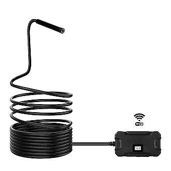 5.5MM WiFi Endoskope Inspektionskamera 1080P 6 LED Display Bildschirm HD Halbstarre drahtlose Kamera für