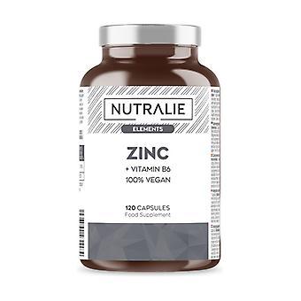 Zinc + Vitamin B6 Elements 120 capsules