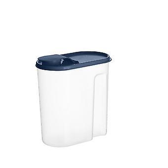 4Pcs 1.8l Food Kitchen Organizer Box Plastic Container Refrigerator Organizer Sealed Crisper Grains
