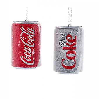 Coca-Cola® Can Christmas Ornaments Pack