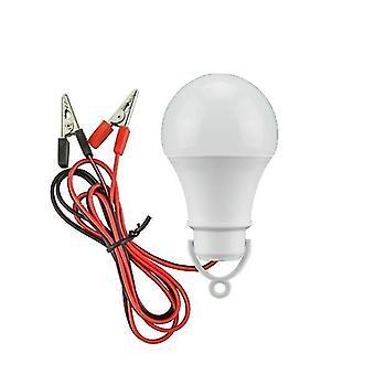 נורת LED אור חירום DC12v LED מנורה - נורת מתח נמוך לבן