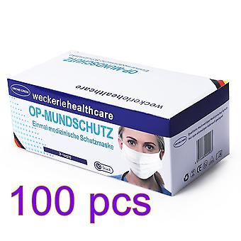Anti-fog Mask Disposable Face Mask Industrial Adult Disposable Masks 100 PCS