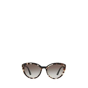 Prada PR 02VSF opal spotted brown / black female sunglasses