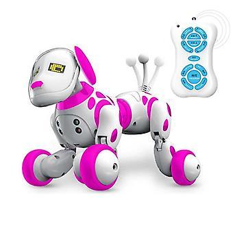 Kauko-ohjattava älykäs puhuva robottikoira, ohjelmoitava, langaton 2,4 g
