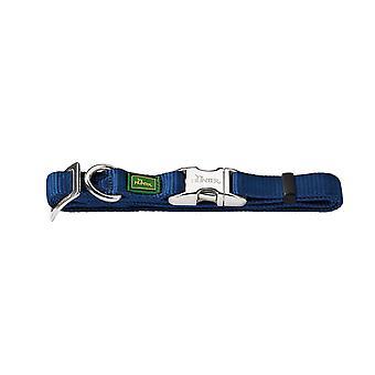 Pet leashes alu strong collar  medium  blue/navy blue