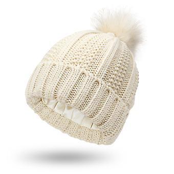 ファッション秋と冬プラスベルベット厚い冬ウーレン帽子
