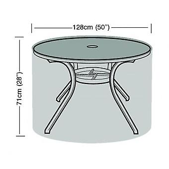 4-6 Seater Round Table Cover Waterproof Garden Polyethylene