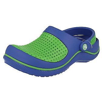 Sandalias de verano para niños Crocs playa Crosmesh Zuecos niños