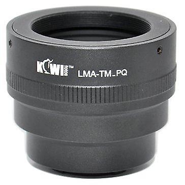Kiwifotos Lens Mount Adapter: Allows T Mount Lenses (telescopes, microscopes, enlargers, bellows units etc.) to be used on the Pentax Q, Q10