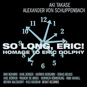 Eric Dolphy - So Long Eric-Homage to Eric Dolphy [CD] USA import