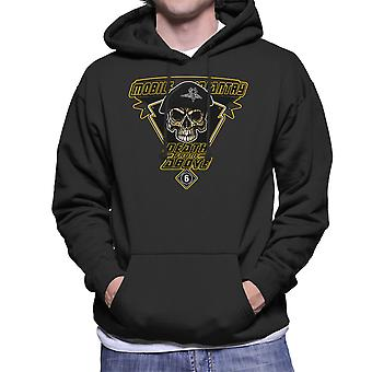 Death From Above Mobile Infantry Starship Troopers Men's Hooded Sweatshirt