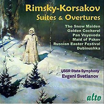Svetlanov, Evgeni/ Ussr Symphony Orchestra - Rimsky-Korsakov: Famous Suites and Overtures [CD] USA import